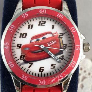 Disney Accessories - Cars Disney Watch  Teaching Car Time Child's Watch